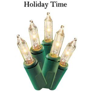 2 Packs of Holiday Time 20 Clear String Lights NWT
